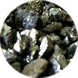 マイナスイオン石